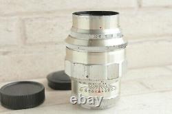 Argent Jupiter 11 135mm F4 M39 Vis Lens Urss Russe