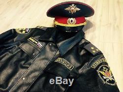 Armée De Police Et De Police Vintage Russe Grande Taille