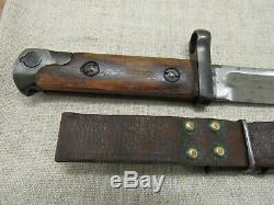 Armée Rouge Soviétique Seconde Guerre Mondiale Russe Svt-40 Couteau Bayo. Early Type