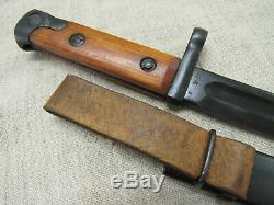 Armée Rouge Soviétique Seconde Guerre Mondiale Russe Svt-40 Couteau Bayo. Type De Début. Rare
