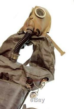 Armée Russe Militaire Réservoir Gaz Masque Ip-5 Masque De Filtre Sac Taille-3 Urss Uniforme