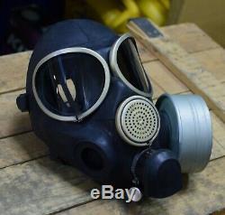 Authentique Vintage Russe Gaz Masque Pmk-3 Urss Soviétique Armée Russe Mega Full Set