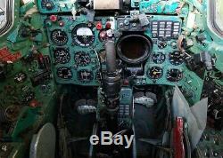 Avion De Chasse Soviétique Russe Pilote Mig-21 Fishbed Stick Gaz