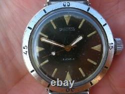 Boctok Wostok Amphibien Sous-marin Divers Russe Urss Montre Vintage