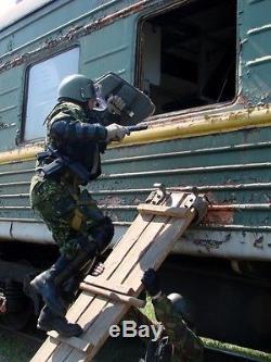 Bouclier D'armure En Titane Bzt-75 (mvd Omon Mia Sobr Des Forces Spéciales Russes)