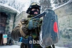 Bzt-75s Bouclier Armure En Acier. Russe Des Forces Spéciales Soviétique MVD Omon, Sobr