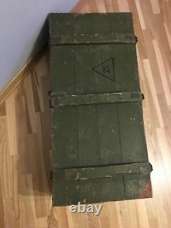 Caisse De Munitions Antichar Russe Soviétique (fusée Pg 9 S)