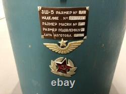 Casque De Vol Original Russe /union Soviétique (urss) Zsh-5 Avec Boîte