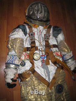 Combinaison Spatiale Originale De Cosmonaute Russe Soviétique Strizh Nav Ext. Très Rare
