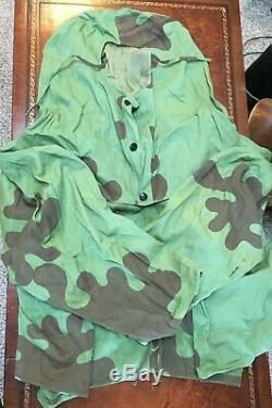 Costume De Camouflage Russe / Soviétique Ww2: Tireur D'élite, Éclaireurs, Blouses Et Pantalons