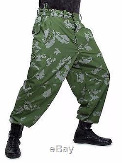 Costume Militaire De Camouflage Russe Partizan Camo Russe Dense Été Sovietique Kgb