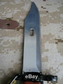 Couteau Militaire Soviétique Russe Bakelite 7.62 Bayonet