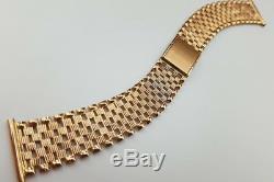 Cwb003 Russe Rose Urss Soviétique Bracelet De Montre Des Hommes D'or Unique! Bas Prix