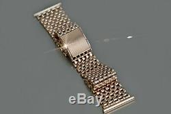 Cwb004 Russe Rose Urss Soviétique Bracelet De Montre Des Hommes D'or Unique! Bas Prix