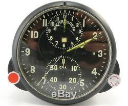 Desservis! Ccss-1 Urss Russie Air Force Militaire Avion Cockpit Horloge Mig / Su