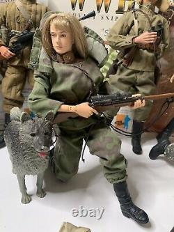 Dragon 1/6 16 Seconde Guerre Mondiale Soviétique Figure Lot Ultimate Soldier