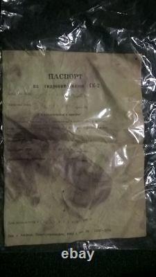 Drysuit Soviétique De Plongée Russe Gk-2 3 Pas Utilisé. Ensemble Complet