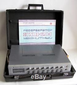 Echo-2m (exo) Vintage Analog Ruban Stereo Delay Reverberator Urss Soviétique De Russie