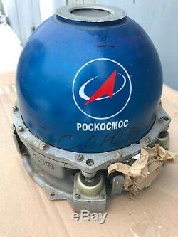 Ecrin D'origine Russe Gyroscope Soyouz Tm-30 Programme Spatial Soviétique