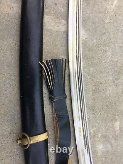 Épée Soviétique Russe Sabre Sabre Chachka Officier De Cavalerie