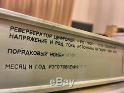 Estradin Px 1000 Vintage Delay / Reverb Processeur À Effets Analogiques Soviétique Russe