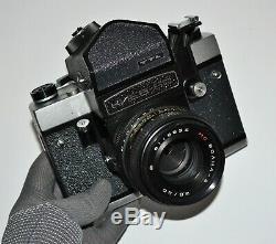 Exc! Jamais Utilisé! 1991 Russie Urss Kiev-60 Moyen Caméra Format, Ensemble Complet (2)