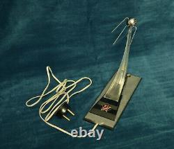 Exclusive Vintage Soviétique Russe Space Spoutnik Rocket Lampe De Bureau Urss Rare