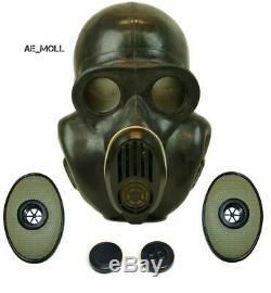 Gaz Masque Eo-19 Pbf Hamster Soviétique Armée Russe Airborn Militaire De Tchernobyl