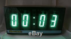 Giant Big Vfd Rare Clock Ilc1-1 / 8 Edition Limitée Urss Russie Nos Livraison Gratuite