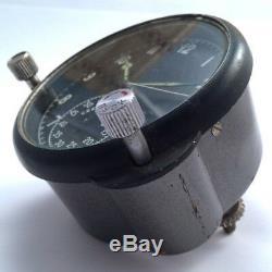 Horloge De Poste De Pilotage D'avions De L'armée De L'air Militaire Soviétique Soviétique De 60 Pièces Mig / Su In Us # 856