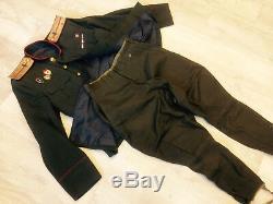 Jeu De 2 Uniformes Russes Soviétiques Tunique + Culotte 1943-1945