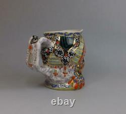 Jug Figural De Porcelaine Soviétique Antique Conçu Par Natalia Danko Lfz