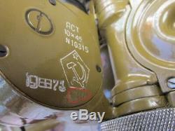 Jumelles Militaire Urss Russe 10x45 Artillerie Périscope 1944 Ww2