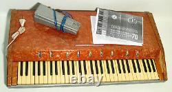 Junost-70 (jeunesse) 1974 Rare Urss Soviet Russe Analogique Clavier Synthétiseur Synthétique