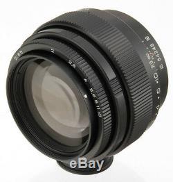 Jupiter-9 85mm F / 2 Urss Russe Sonnar® Lentille De F2.0 M42 Dslr Canon Pentax Sony Nex