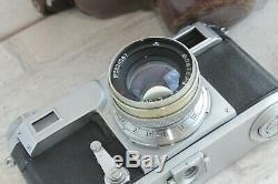 Kiev 2a Télémètre 35mm Appareil Photo Russe Objectif Jupiter-8 50mm F / 2 Contax Urss