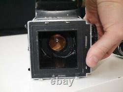 Kiev 88 Russie Soviétique Hasselblad Copie 6x6 Caméra Avec Vega 12b