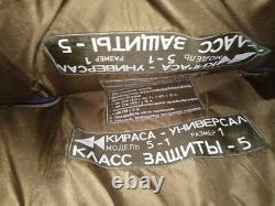 Kirasa Universal Gilet Pare-balles Russian Ussr Soviet Cover Or More