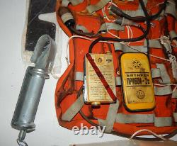 Kit De Sauvetage Naz-7 Survival Life Seat Air Force Pilot Radio Soviet Russe