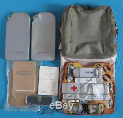 Kit De Survie Su Mig Pour Pilote De Chasse De L'armée De L'air Russe Soviétique, Siège Éjectable Naz-7