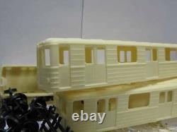 Kit Pour L'assemblage 4 Pcs Soviétique / Russe Subway Wagons Em Type Ho