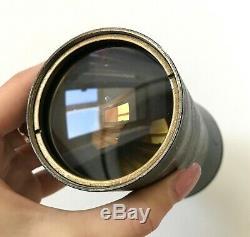 Ko-120m F1.8 / 120mm Russe Projecteur Objectif Anastigmat Rare De L'urss