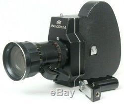 Krasnogorsk 3 Urss Russe 16mm Film Cine Caméra Meteor 5-1 Objectif