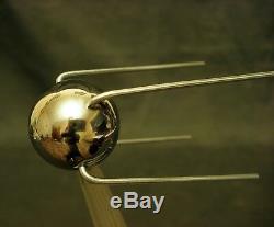 Lampe De Bureau Exclusive Soviétique Vintage Soviétique Space Space Rocket Urss Rare