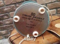 Lancement De Fusée Spatiale Lampe À Paillettes De Lave Soviétique Vintage Soviétique Russe