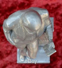 Le Leader Communiste Russe Soviétique Vladimir Lenin Statue De Buste Statue H = 34 CM