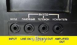 Lider 1 Synthétiseur De Guitare Analogue Soviétique Polivoks Filtre Urss Russe Rg-300