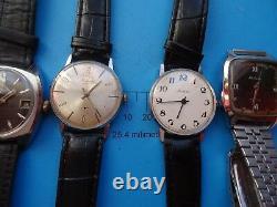 Lot De 9 Vintage-russian-mechanical-ussr-wrist-watch- Raketa