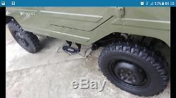 Luaz 969 Ex-armée Soviétique 4x4 Battlefield Jeep 1.2 Ltr Militaire Classique Russe