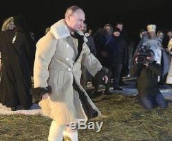 Manteau Bekesha En Peau De Mouton Officier De L'armée Russe Manteau En Peau De Mouton D'hiver Urss Tulup